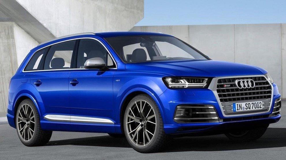 Audi SQ7, poderío desbordante