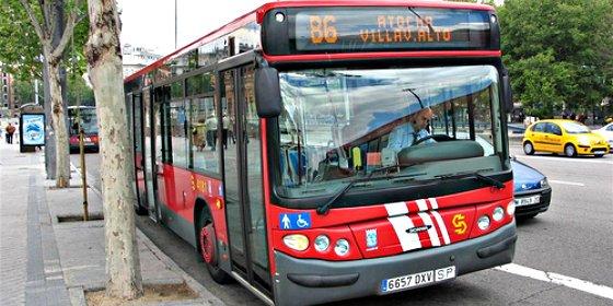 El precio de la EMT en Madrid es hasta un 70% más caro que el resto de autobuses urbanos de España