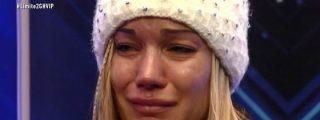 Sorpresón en 'GH VIP 4': Belén Roca abandona entre lágrimas y sin despedirse de nadie