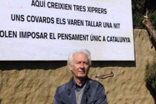 """Genio y figura: Boadella responde con un revelador cartel a """"los cobardes"""" que atentaron contra su casa"""