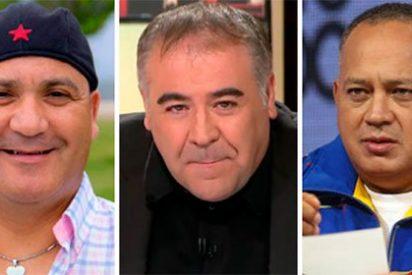 """Losantos retrata al mamporrero podemita Bódalo: """"El sujeto de marras es como una fotosíntesis de García Ferreras y Diosdado Cabello"""""""