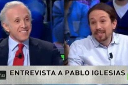 Eduardo Inda acojona a Pablo Iglesias amagando con revelar en directo su teléfono 'iraní'
