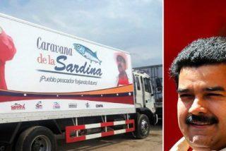Maduro compra aviones de guerra y reparte sardinas para seguir atufando