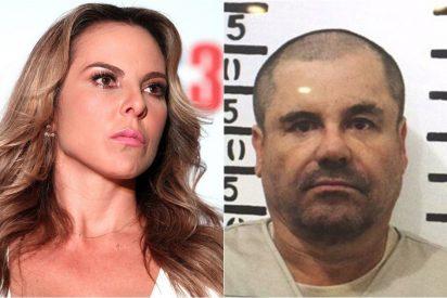 """Kate del Castillo: """"El Chapo Guzmán me atravesaba con la mirada, yo sentía morir"""""""