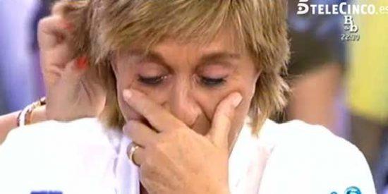 Una cámara oculta destapa la rabia que le tiene Chelo Gª Cortés a sus compañeros de 'Sálvame'