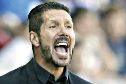 """Cholo Simeone: """"El que hacía un error perdía y ninguno de los dos cometimos errores"""""""