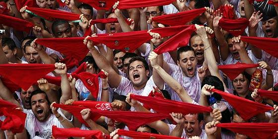Los mamarrachos de Podemos también quieren quitarle el nombre a los Sanfermines de Pamplona