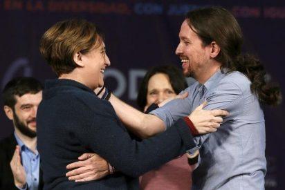 Ada Colau le abre otro frente a Pablo Iglesias, al que pone a parir y critica