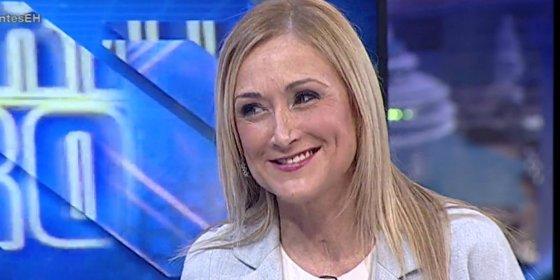 """Cristina Cifuentes: """"El desbloqueo de Telemadrid está en manos de PSOE y Podemos"""""""