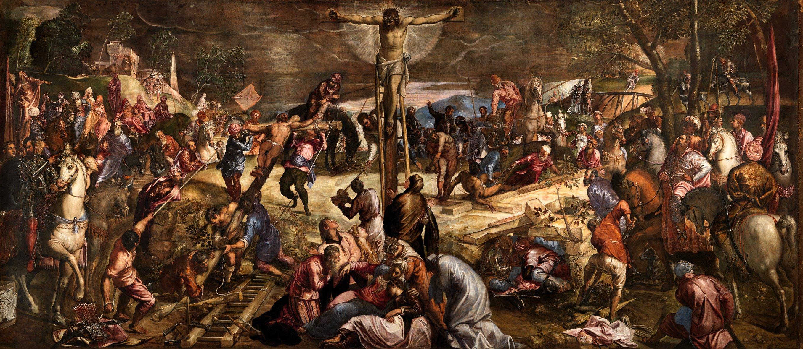 Jesús crucificado: denuncia sí, venganza no