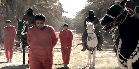 La cafre decapitación de tres 'cotillas' por los encabritados jinetes del ISIS