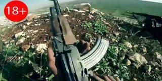 El muyahidín chuleta graba su propia muerte en 3-D a manos de un francotirador