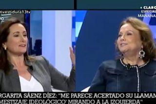 "Nuevo ladrido a Margarita Sáenz a Edurne Uriarte: ""Mirarte a los ojos me pone nerviosa"""