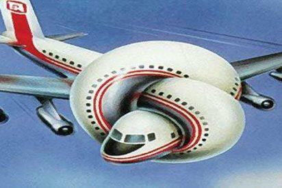 Monta por primera vez en avión, confunde la salida con el baño y acciona el tobogán de evacuación