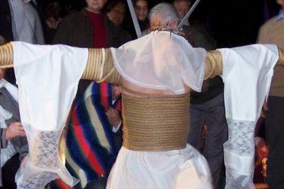 Los 'empalaos' por las calles de Jerez de los Caballeros