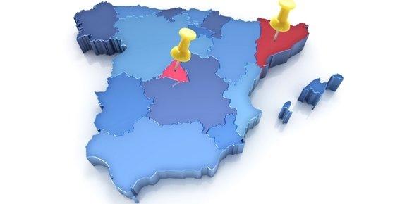 Once comunidades autónomas españolas elevaron su PIB más de un 3% en 2015