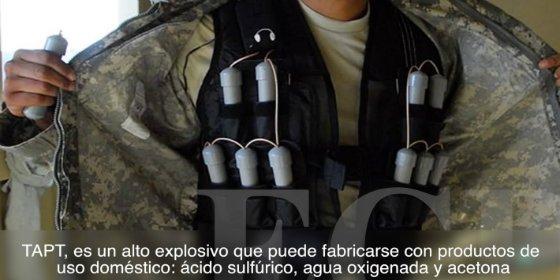 'La madre de Satán': el explosivo 'de la droguería' que emplea el DAESH