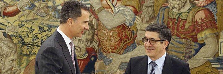 """Ignacio Camacho sobre el 'zasca' de Felipe VI a Patxi López: """"Le ha hecho un 'Pasapalabra' con soberana elegancia"""""""