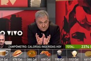 El descacharrante 'zampómetro' de Ferreras causa furor en la red