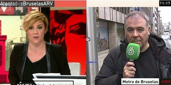 Ferreras suspende sus vacaciones y viaja a Bruselas para cubrir los atentados