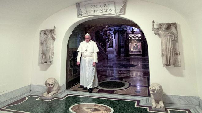 El Vaticano ya tiene lista la tumba del próximo Papa