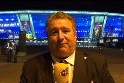 Muere el mítico periodista deportivo Gaspar Rosety, el narrador fetiche de José María García