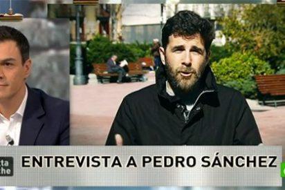El 'zasca' de Gonzo a Pedro Sánchez que deja sin habla al líder del PSOE
