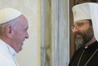 """Francisco da las gracias a los greco-católicos ucranianos, """"testigos de fe en las tribulaciones"""""""