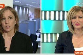 """La tensión hace saltar chispas entre Susanna Griso y Tania Sánchez: """"Aceptamos pulpo"""""""