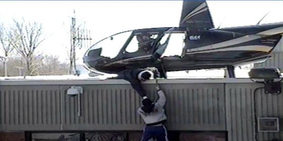 Con esta torpeza se fugan de la cárcel dos ángeles del infierno en helicóptero