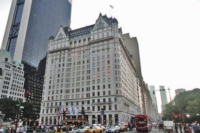 El mítico Hotel Plaza de Nueva York sale a subasta por ruina de su mafioso dueño