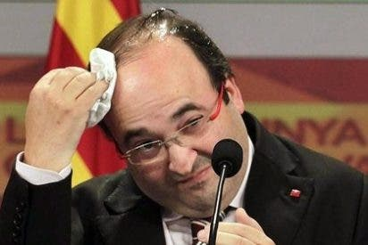 Iceta se 'puso palote' y le pidió dos besos en la mejilla a Pablo Iglesias