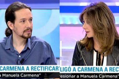 """Ana Rosa alecciona al Pablo Iglesias más beligerante: """"No hay que olvidar, pero tampoco resucitar"""""""