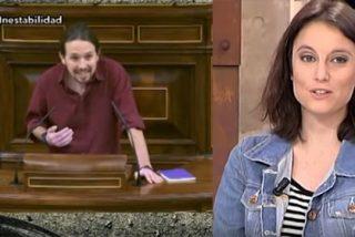 """Carnicero machaca a Iglesias por mofarse de Andrea Levy: """"Chusco, antiguo, grosero y machista"""""""