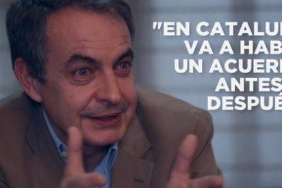 """La solución de Zapatero 'El Empanado' para el embrollo que dejó en Cataluña: """"comunidad nacional"""""""