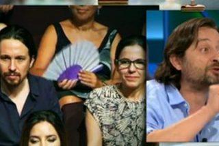 """Eduardo Inda abronca a Podemos, califica a Monedero de """"sinvergüenza fiscal"""" y Mayoral pone cara de pasmo"""