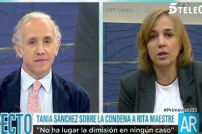 Tania Sánchez ya no sabe qué hacer para tapar la desaparición de Errejón: