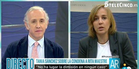 """Tania Sánchez ya no sabe qué hacer para tapar la desaparición de Errejón: """"No es lo que le interesa a la gente"""""""