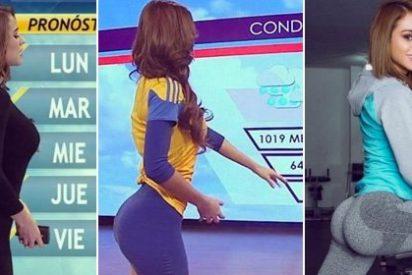 Yanet García, la presentadora del tiempo mexicana que incendia las redes por sus curvas