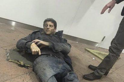 ¿Quién es el deportista herido en los atentados cuya foto recorre el mundo?