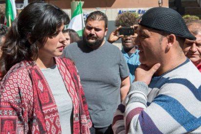La patosa Teresa Rodríguez equipara al macarra Andrés Bodalo con el poeta Miguel Hernández