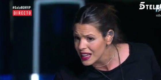 ¿Laura Matamoros debería ser expulsada de 'GH VIP 4' por cantar el 'Cara al sol'?