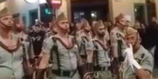 El mal trago del legionario que pierde el paso drogado en la procesión de Antequera
