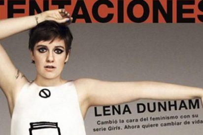 Lena Dunham se disculpa con 'El País', tras acusarles de manipular su foto