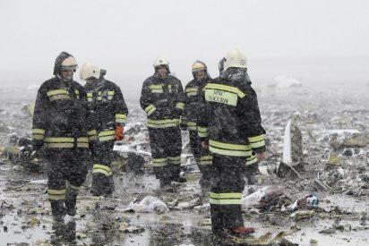 Dos españoles entre los 62 muertos al estrellarse un avión de Flydubai al sur de Rusia