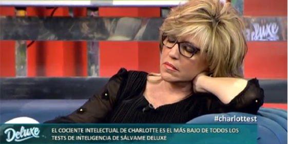 La falta de profesionalidad de Lydia Lozano al quedarse dormida en directo