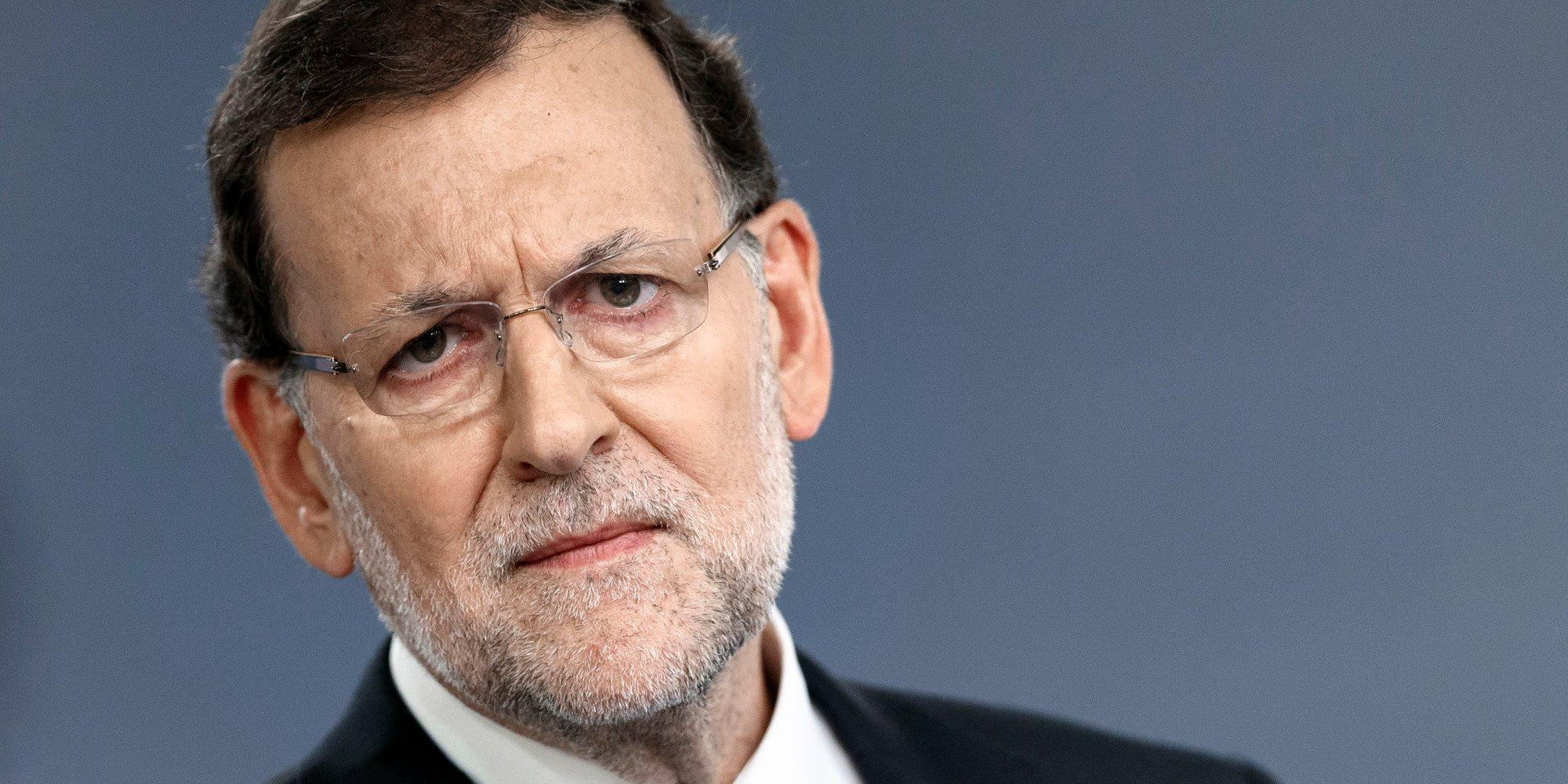 El sacrificio de Mariano Rajoy