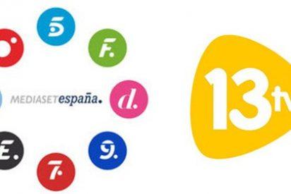 Mediaset España alcanza un acuerdo con 13TV para su comercialización publicitaria
