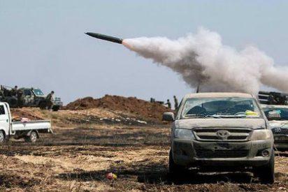 Así mandan los kurdos con Alá al suicida del ISIS volando su coche