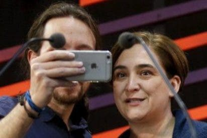 """Ada Colau se acojona y tras criticar la """"arrogancia"""" de Pablo Iglesias, rectifica en Twitter"""
